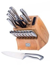 Chicago Cutlery 18 Piece Insignia Steel Knife Set With