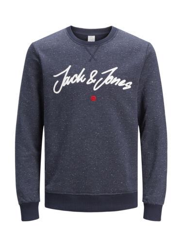 Jack /& Jones Originals Sweater Jordot Mens Crew Neck Speckled Sweatshirt