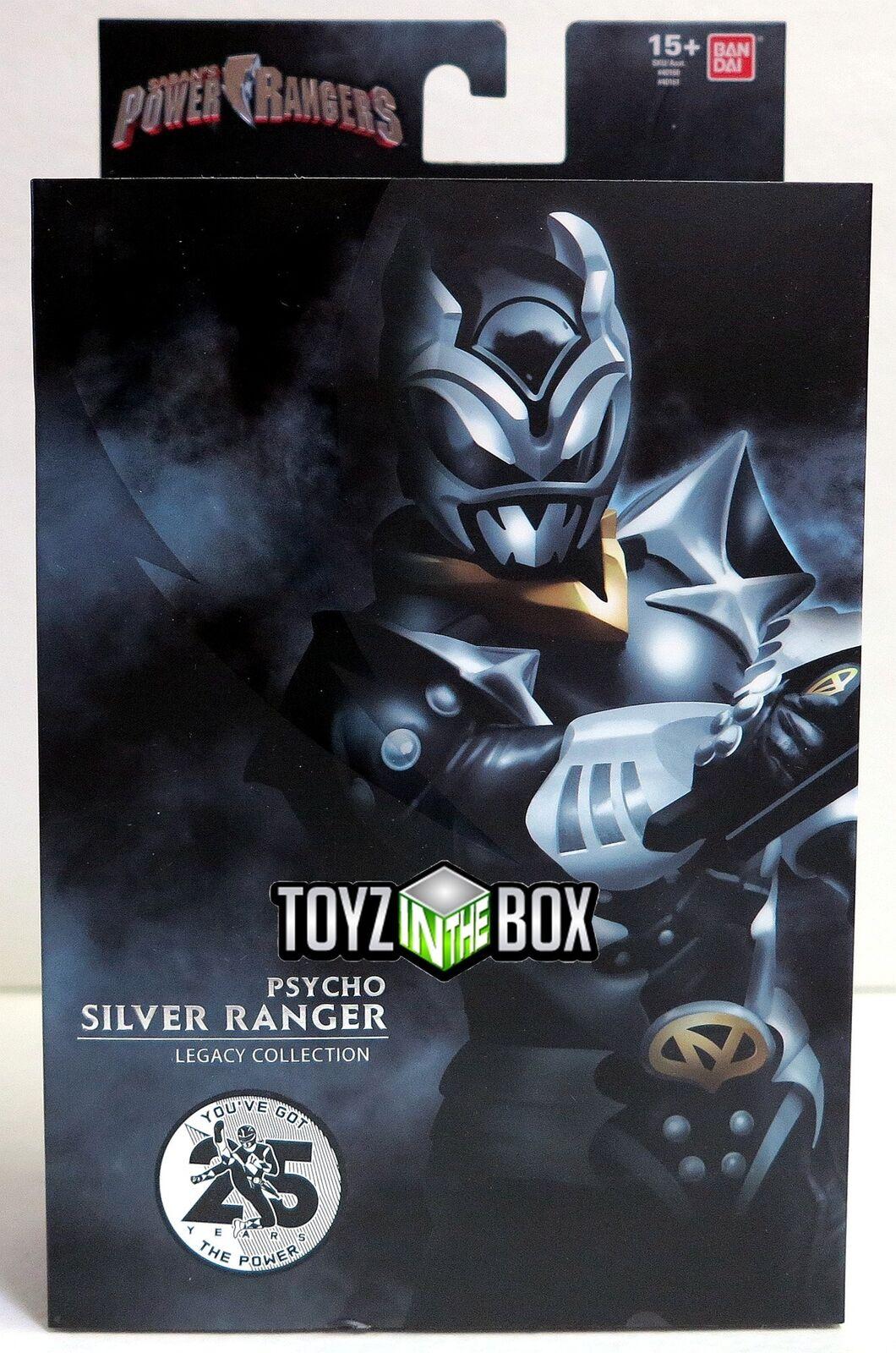 energia Rangers Legacy collezione SDCC 2018 Psycho argento Ranger azione cifra