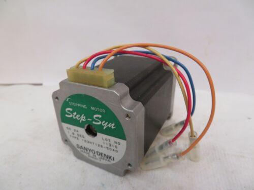 Sanyo Denki Step-Syn Stepping Motor 103H7126-5040 Used