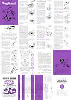 Creepy Crawlers Instruction Sheet For A Mattel Thingmaker