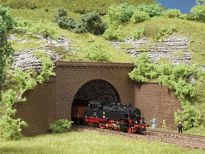 Auhagen 44636 Scala N Tunnel A Due Rotaie # Nuovo In Scatola Originale #