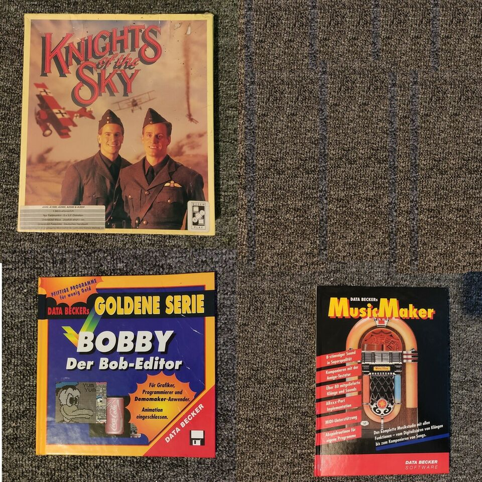 Spil til Amiga, Commodore Amiga