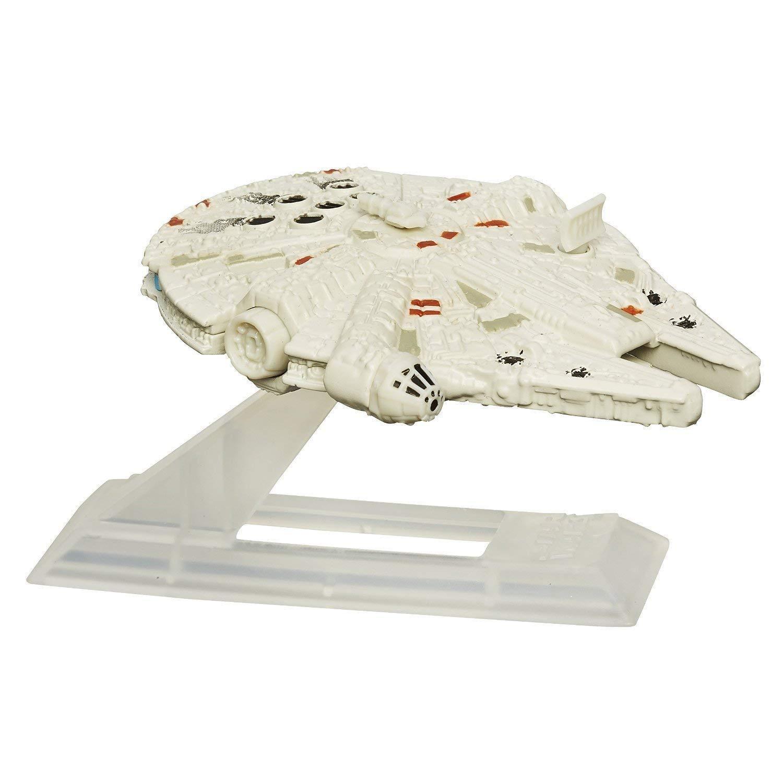STAR WARS EPISODIO VII NERO SERIE TITANIUM-Millennium Falcon