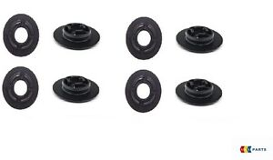NEW-GENUINE-VW-FLOOR-MAT-FASTENER-CLIPS-CARPET-CLAMPS-4-4-PCS-BLACK