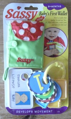 New Baby/'s First Wallet Sassy innovative toys for your developing baby