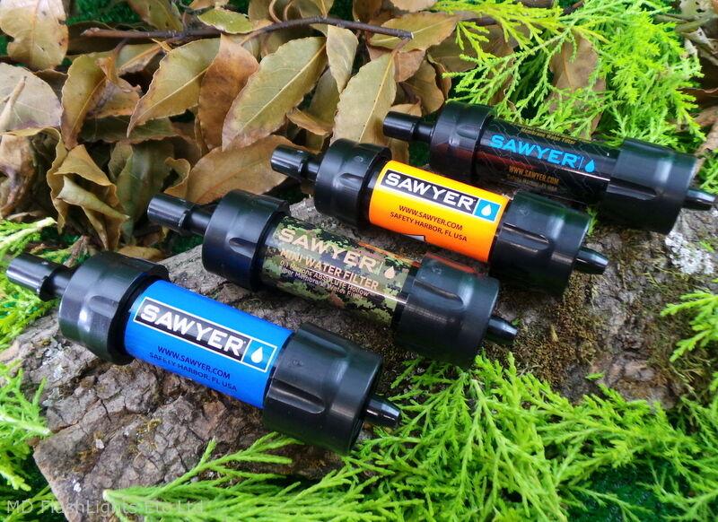 SAWYER MINI WATER PURIFICATION FILTER  KIT BUSHCRAFT SURVIVAL CAMPING HIKING EDC  the latest models
