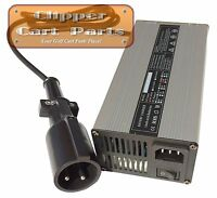 Club Car 48 Volt Golf Cart Battery Charger 5amp - With 3 Pin Charging Plug
