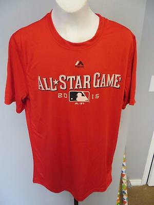 Team Sports Have An Inquiring Mind New Minor-flaw Reds 2015 All-star Game Youth Size 14/16 Large L Shirt 72it With The Most Up-To-Date Equipment And Techniques