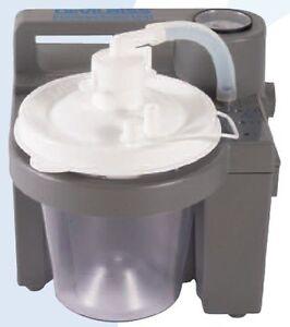 DeVilbiss-HomeCare-Medical-Dental-Portable-Suction-Aspirator-Machine-7305D-D-NEW
