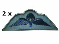2 x Parachute Regiment Airborne Subdued Wings Para Reg Wings Badge Army Military