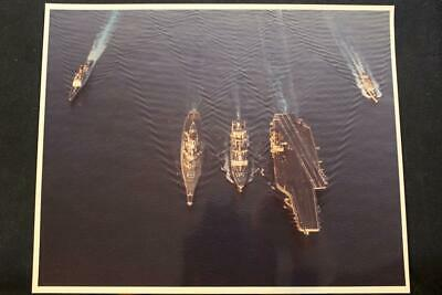 Qualified Military Ship Photo Uss Kitty Hawk cv-63 8' X 10' Color Photo p1310 Skillful Manufacture