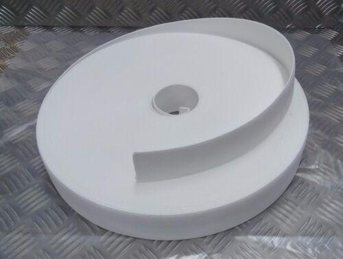 Genuine British Military Issue Ceremonial White Courlene Belt Material Nylon Web