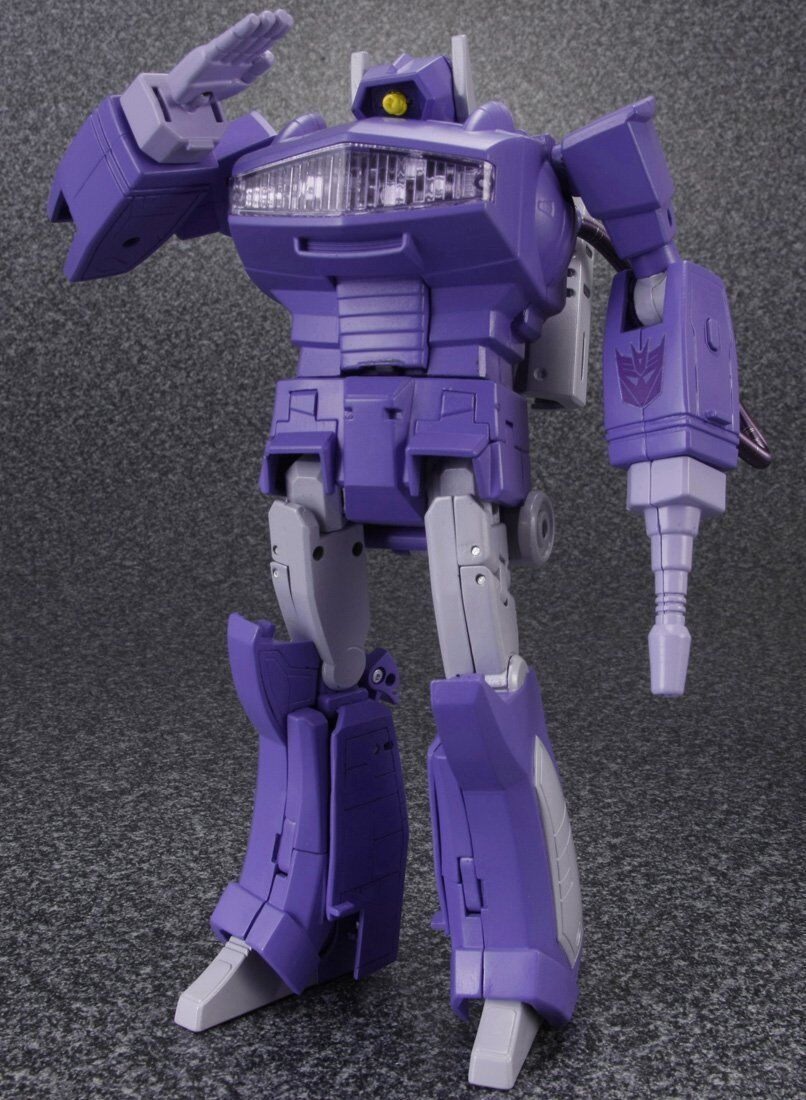 Transformers Masterpiece MP29 LASERWAVE SHOCKWAVE Figura De Acción