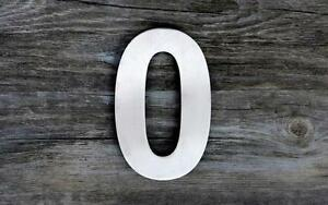 Image Is Loading Qt Modern House Number And Letter Super Large