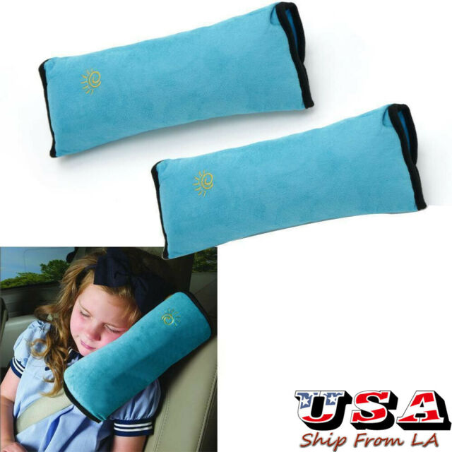 Car Pillow Seat Belt Cushion Cover ROSETOR 1Pc Iron Man shape Seatbelt Pillow for Kids Safety Seat Head Rest Support Shoulder Pad