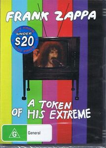 FRANK-ZAPPA-A-Token-Of-His-Extreme-DVD-NEW-amp-SEALED-Free-Post