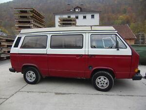 ! VW T3 Cathargo/Malibu- Camper- 1,6 TD - Bj.1987 !