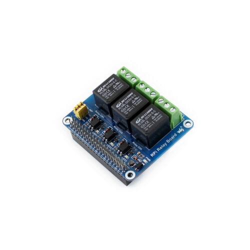3 Channel Relay Module Expansion Board HAT for Raspberry Pi RPI A+//B+//2B//3B+//4