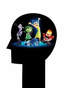 Inside out poster walt disney pixar animazione cartone animato ebay