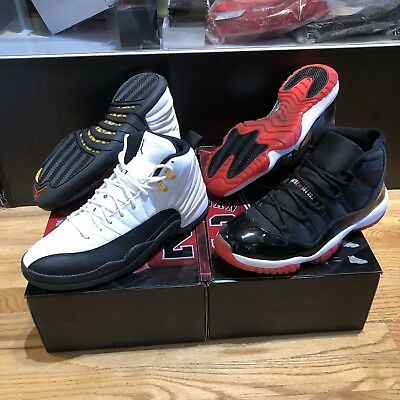 wholesale dealer 8c329 932e5 Air Jordan Collezione Countdown Pack CDP 11 12 Bred XI Taxi XII Mens Size  11 DS | eBay