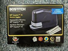 Bostitch B8 Impulse 45 Electric Stapler 45 Sheet Capacity Value Kit