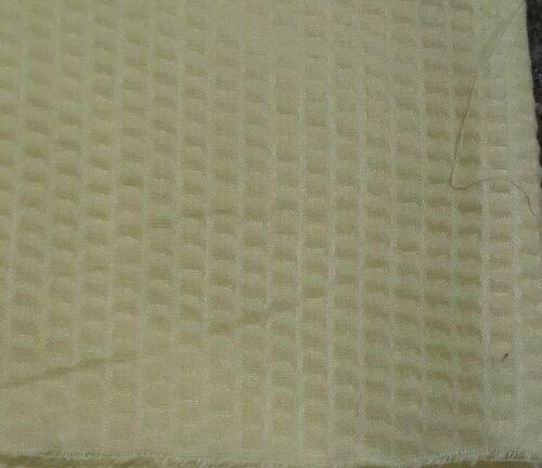 Jaune Clair Bulle effet en Polycoton Tissu-vendu au mètre
