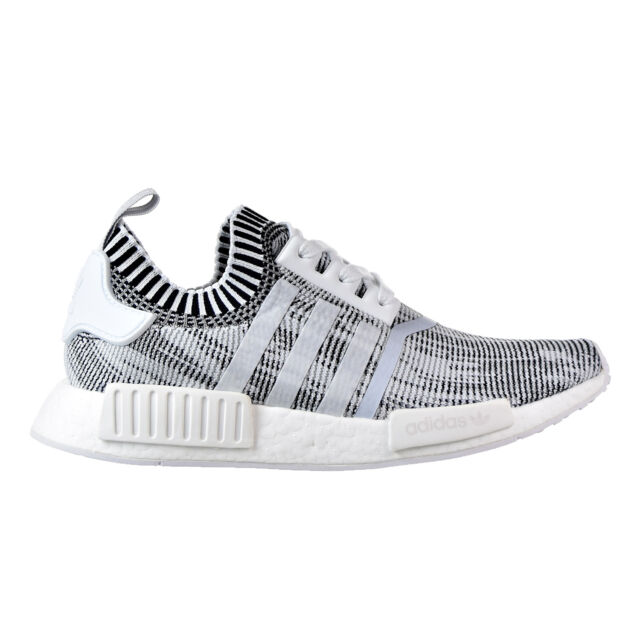 24785c0468683 By1911 adidas NMD R1 Primeknit Shoes Oreo Glitch Camo Black White 4 ...