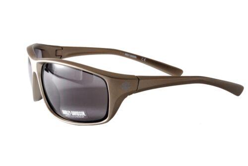 Harley Davidson Sunglasses HD0107V 6507A Metallic Silver Grey