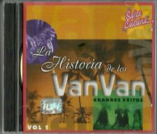 La Historia De Los Vanvan Volume 1  Latin Music CD