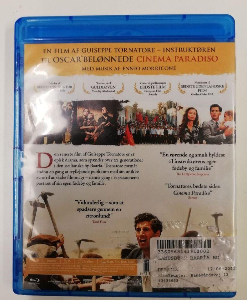 Landsbyen Baaría, Blu-ray, drama