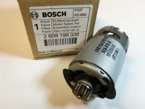 1607022572 Original BOSCH 2609199338 Motor Gleichstrommotor zu GSB 14,4 V Li