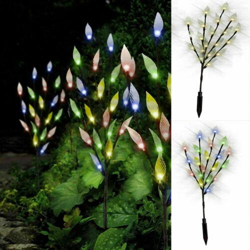 3 PC 60 LED Energia Solare Albero Ramo Spike luci esterno giardino Prato Percorso Patio