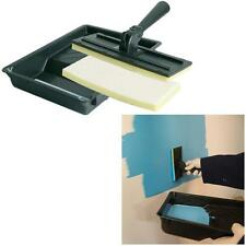 Paint Pad - Tray 2 pads handle for emulsion wood stain gloss quicker than roller