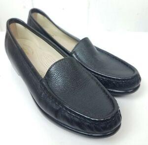 7a4746d5cb4 SAS Simplify Loafers Womens Size 8.5M Black Leather Tripad Comfort ...
