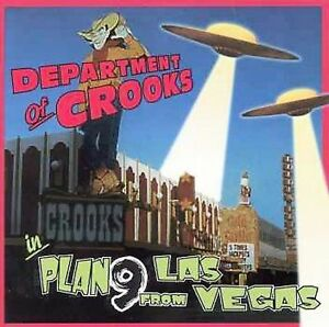 FREE US SHIP. on ANY 3+ CDs! NEW CD Department of Crooks: Plan 9 From Las Vegas
