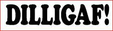 """DILLIGAF"" LUSTIGER AUFKLEBER VW WOHNMOBIL BEETLE POLO GOLF NICHT CORSA"