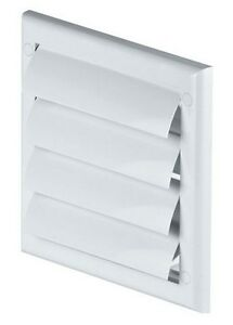 Ordinaire Image Is Loading Gravity Flaps 190mm X 190mm Exterior Wall Ventilation