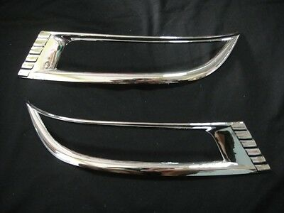 CHROME REFLECTOR TAIL BUMPER COVER TRIM FOR NEW CHEVROLET TRAILBLAZER 2012 SUV