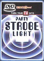 NEW/SEALED PARTY STROBE LIGHT DVD DREW'S FAMOUS