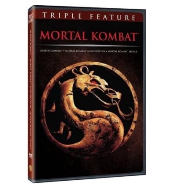 Mortal Kombat Triple Feature (DVD) Brand New