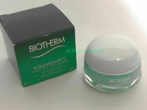 Biotherm Aquasource Total Eye Revitalizer Gel Cooling Care 0 5 Oz 15 Ml Tstr Ebay