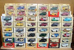 Lledo-Diecast-modelos-decada-de-1930-Ford-Estaca-camiones-desde-1-99-elegir-de-la-lista-de-Lote-de