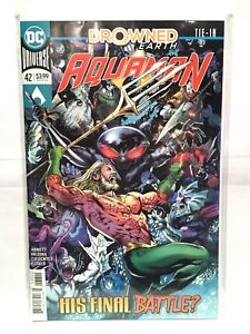 Aquaman-Vol-8-2016-42-NM-1st-Print-DC-Comics-Drowned-Earth-Tie-In-Rebirth