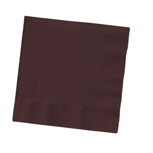 2-ply Paper Beverage Cocktail Napkins Bar Party Small Solid Colors Disposable
