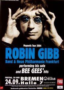 GIBB, ROBIN - BEE GEES - 2004 - Konzertplakat - Magnetic ...