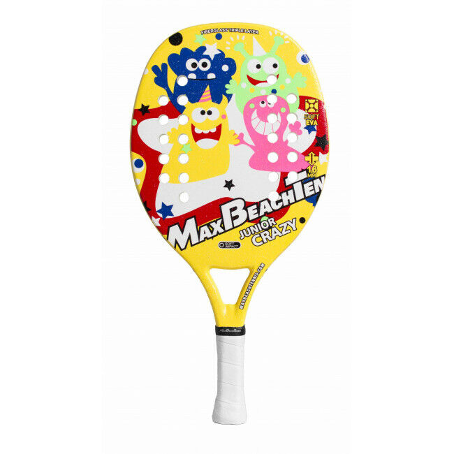 Raqueta Beach Tennis Racket Mbt Júnior Fun Crazy 2019 con Funda