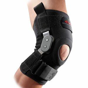 f3e751a7a6 Image is loading McDavid-429-Black-Neoprene-Hinged-Knee-Stabilizer-Support-
