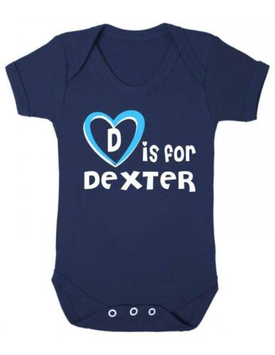 Dexter Baby Bodysuit D Is For Dexter Playsuit Baby Vest