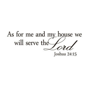 As-For-Me-and-My-House-Serve-The-Lord-Wall-Decal-PVC-Sticker-Christian-U3X3
